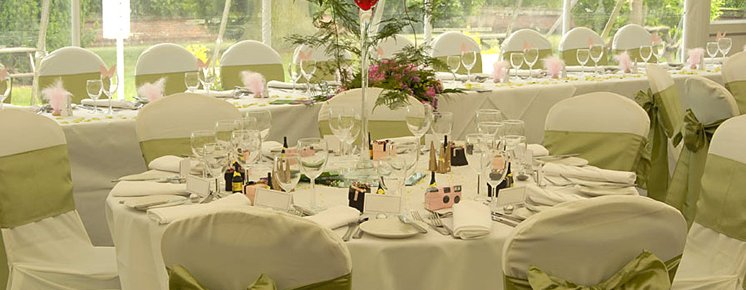 Wedding decoration hire, norfolk