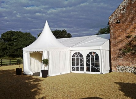 marquee hire for extending a room