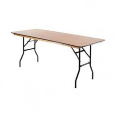6ftTrestle table
