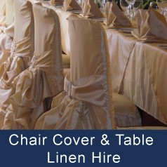 Chair covers & Linen