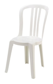 White-plastic-Chair
